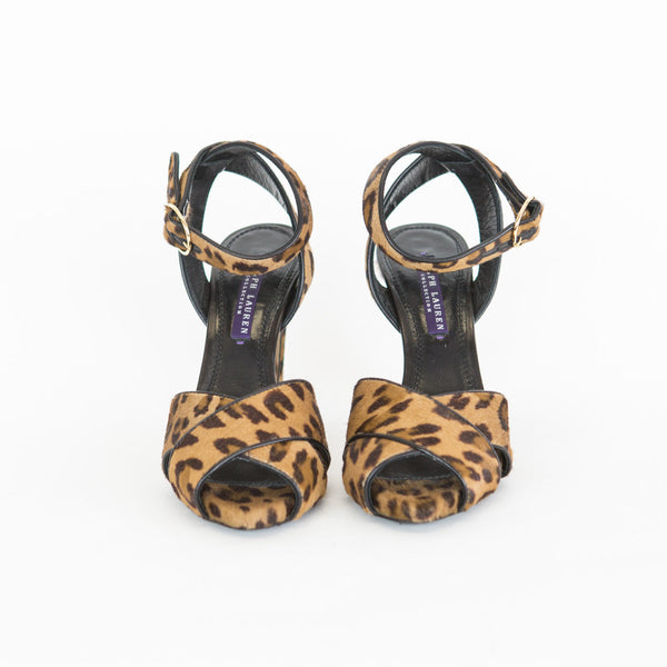 Ralph Lauren Collection | Leopard Print High Heels