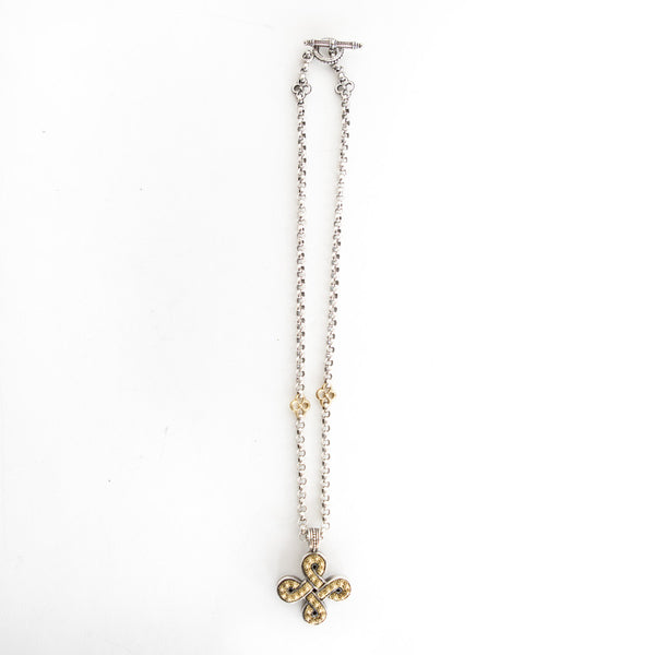 Konstantino | Necklace with Infinity Cross