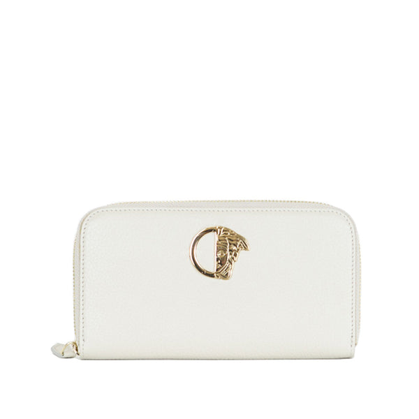 Versace Collection | Beige Leather Wallet
