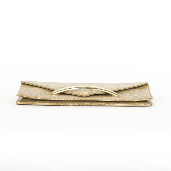 Zac Posen | Gold Merlene Envelope Clutch