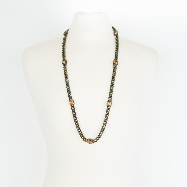 Lanvin | Brass Chain Link Necklace