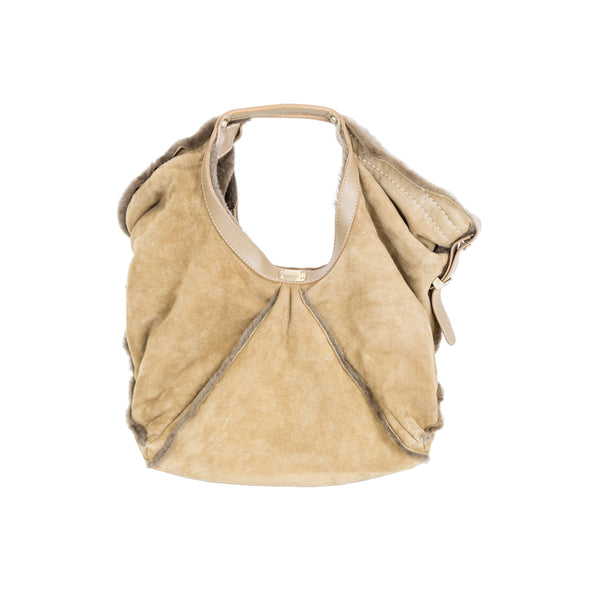 Jimmy Choo | Tan Suede Hobo