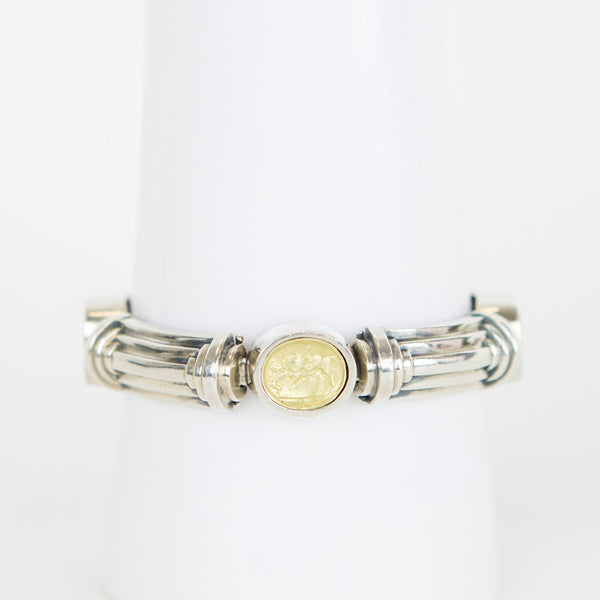 Esti Frederica | Silver Bracelet With Gold Detail