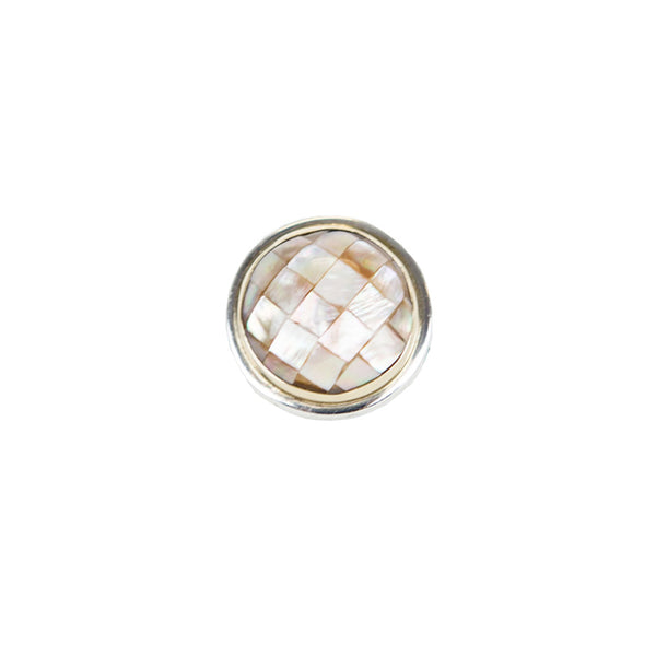 Michael Dawkins | Silver and Mother of Pearl Ring