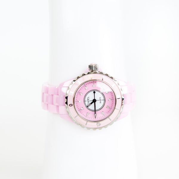 Chisel | Pink and Silver Watch