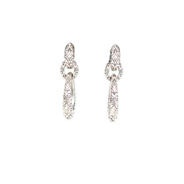 Scott Kay | Filigree Chain Link Earrings