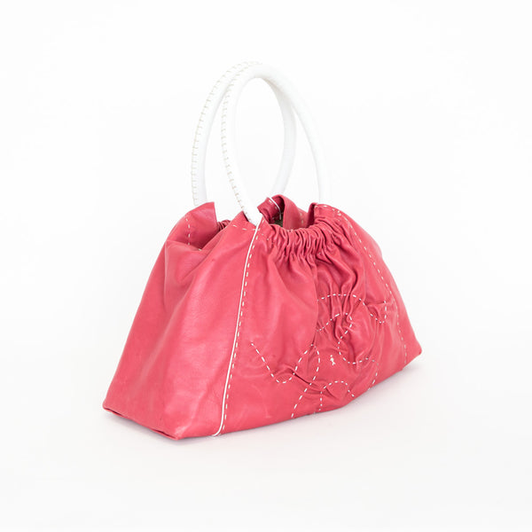 Henry Beguelin | Pink Leather Handbag
