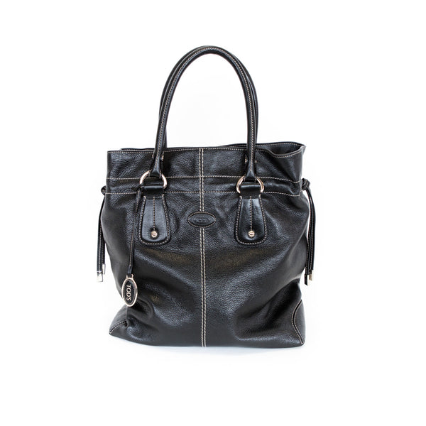 Tods | Leather Drawstring Tote