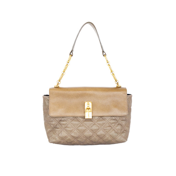 Marc Jacobs | Bronze Baguette Handbag