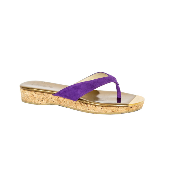 Jimmy Choo | Purple Pence Sandals