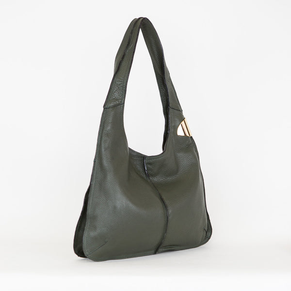 Halston Heritage | Leather Hobo Bag