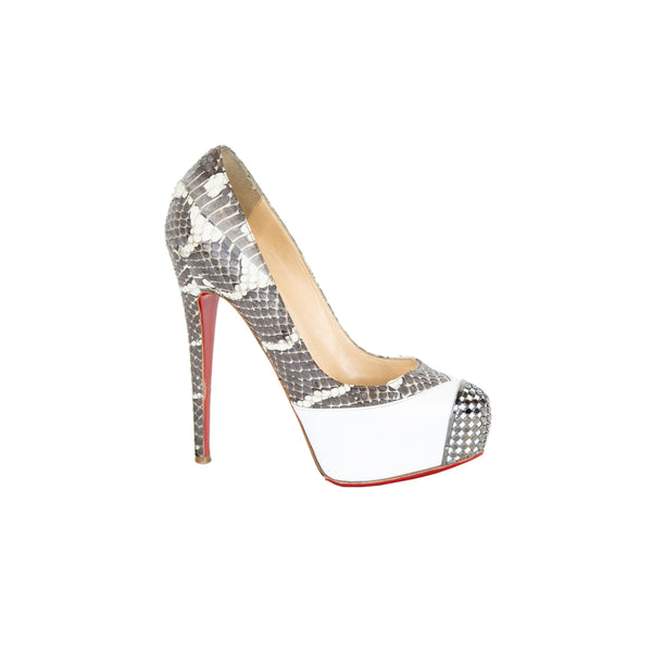 Christian Louboutin | Maggie 140mm Watersnake Pumps
