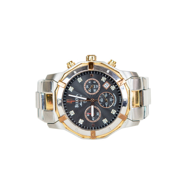 Bulova | Marine Star Stainless Steel Watch