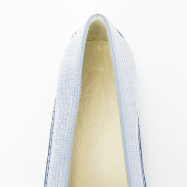 Tods | Sequined and Leather Flats