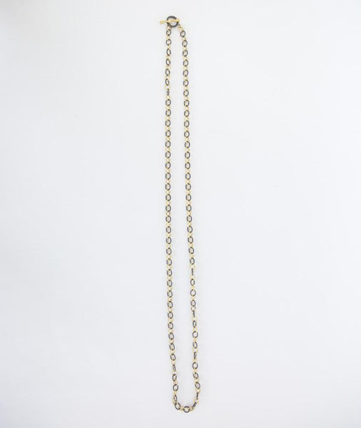 Dina Mackney | Mix Metal Chain Link Necklace