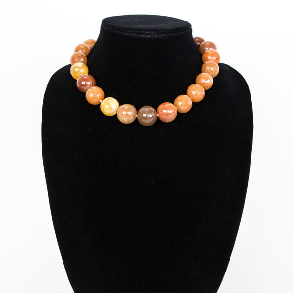 Dian Malouf | Faceted Carnelian Necklace