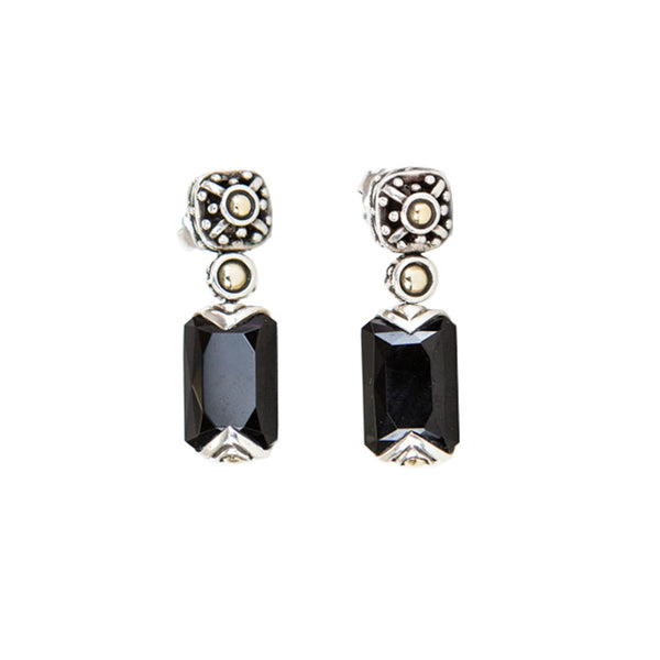 John Hardy | Jaisalmer Black Onyx Drop Earrings