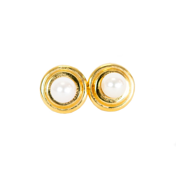 Vita Fede | Double Titan Pearl Earrings