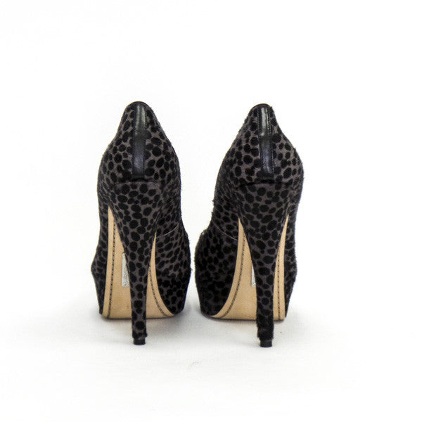 Alejandro Ingelmo Sophie Pony Hair Pumps With Stiletto Style Heels