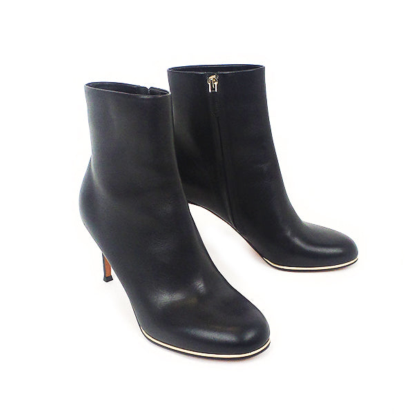 Givenchy | Black Metal Trim Booties