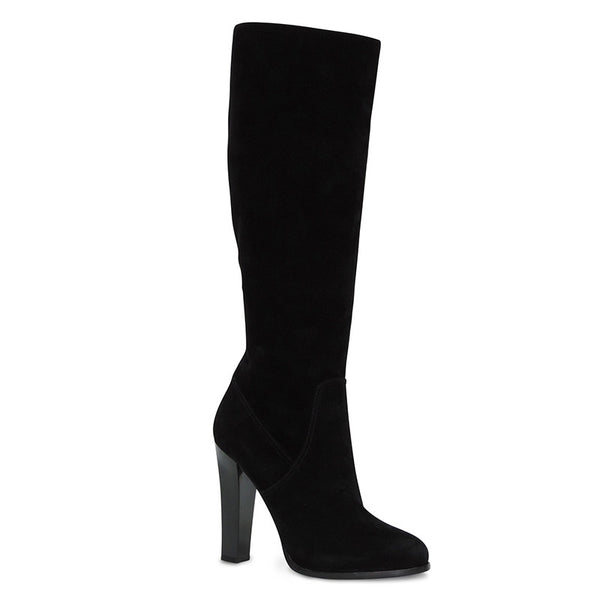 Ralph Lauren | Black Suede High Heel Boots