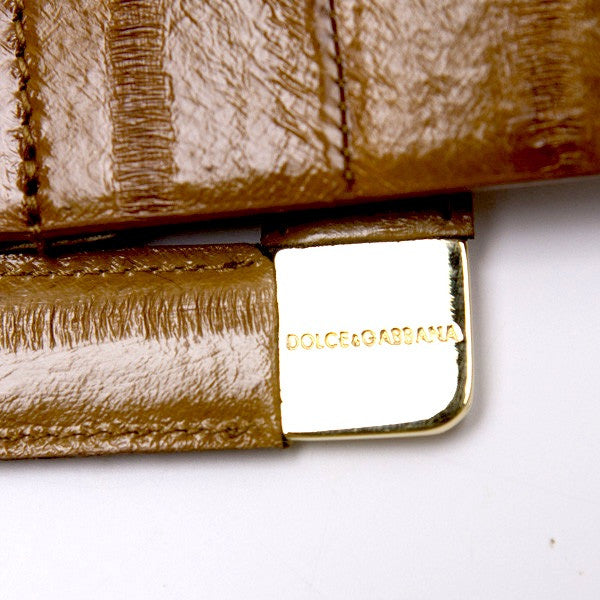 Dolce & Gabbana Belt With Gold Nameplates