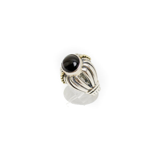 Lagos 18K Sterling Silver Ring