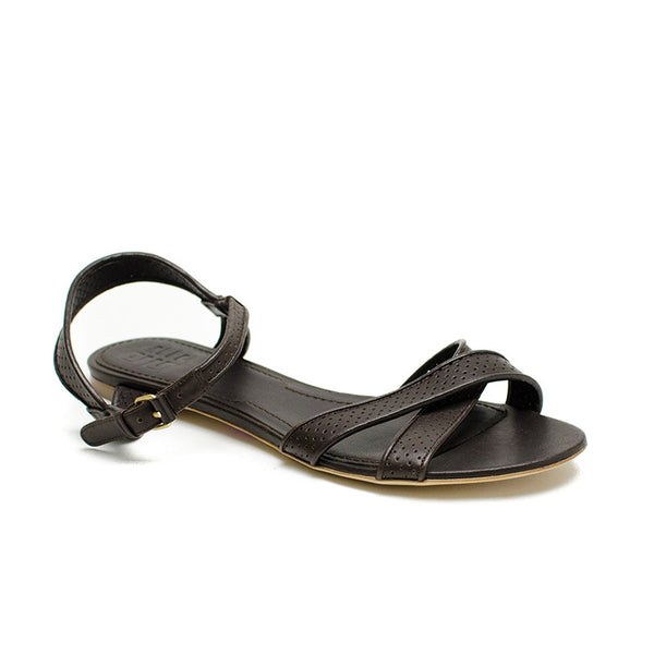 Givenchy Brown Leather Sandals
