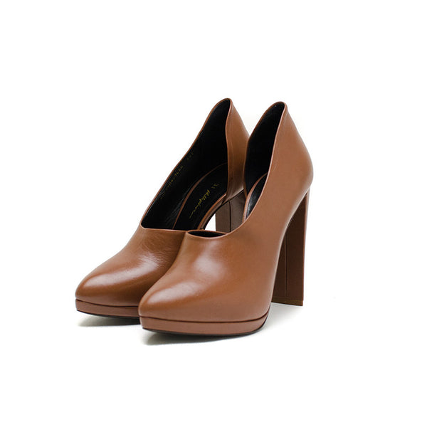 Phillip Lim Brown small platform