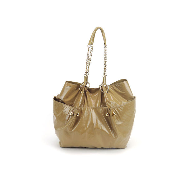 Stella McCartney Patent Leather Bucket Bag