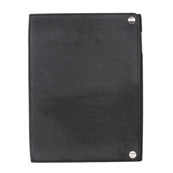 Louis Vuitton | Black Leather iPad Case