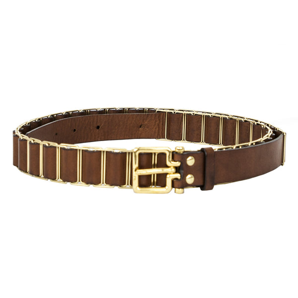 Chloe | Brown Leather Belt