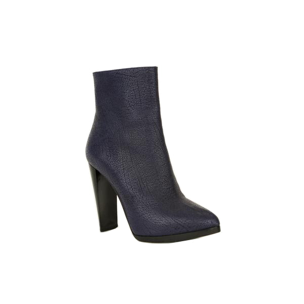 Phillip Lim | Purple Leather Jayne Ankle Booties
