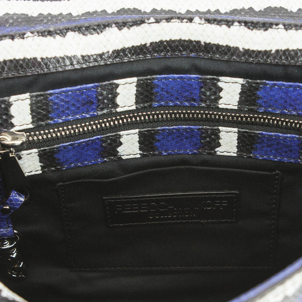 Rebecca Minkoff | Embossed Leather Shoulder Handbag