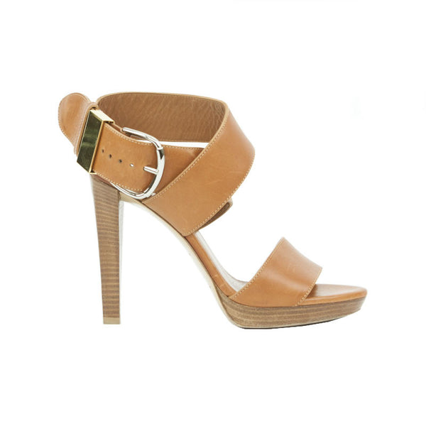 Balenciaga | Cognac Tan High Heel Sandals