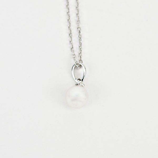 Mikimoto | Diamond And Akoya Pearl Necklace