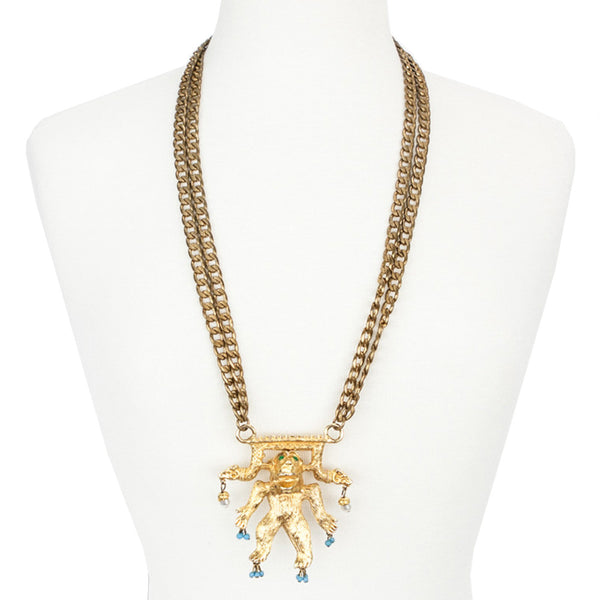 Judith Leiber | Gorilla Necklace