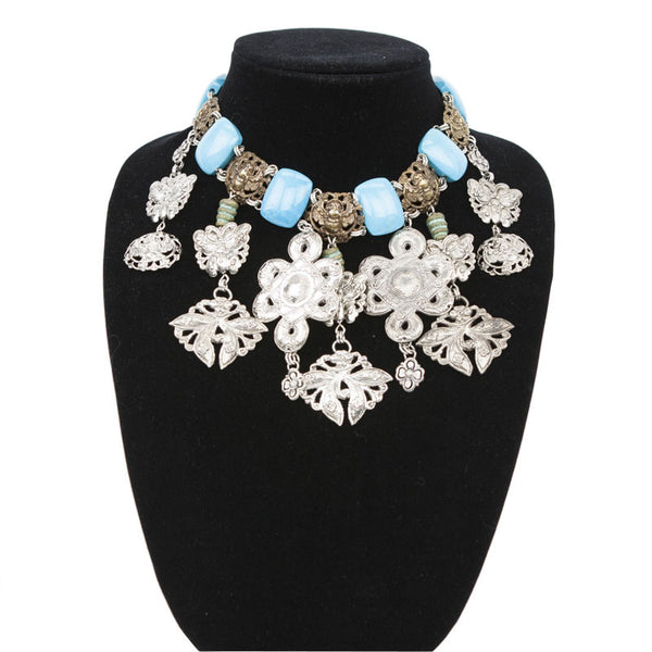 Stephen Dweck | Turquoise and Silver Necklace