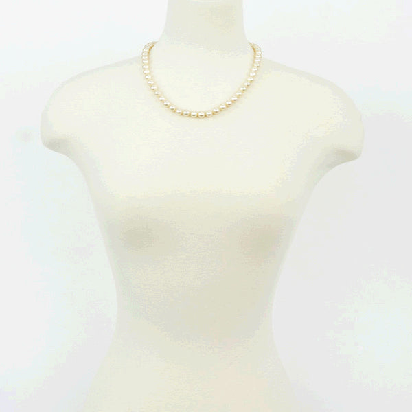 Majorica vintage luster pearl necklace