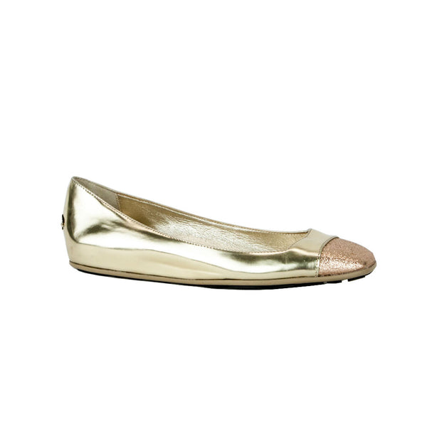 Jimmy Choo | Gold Gavot Flats