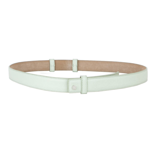Jimmy Choo | Mint Leather Belt