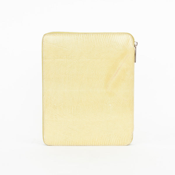 The Row Leather iPad Case