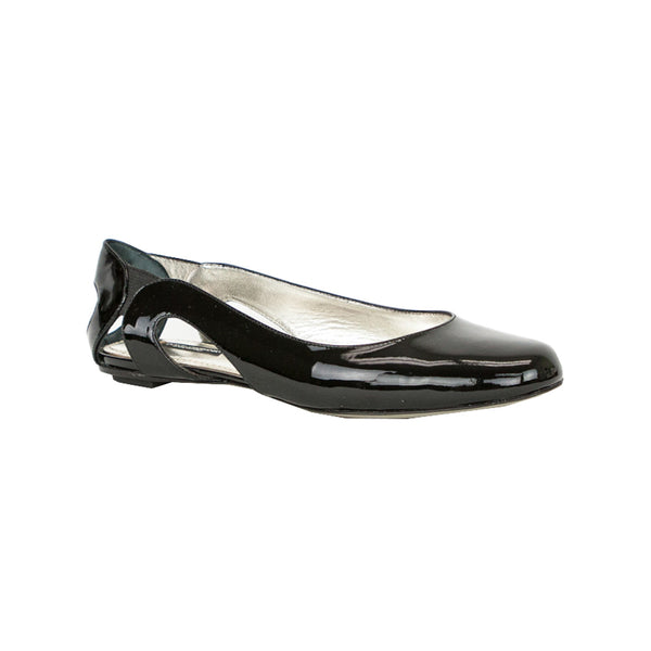 Dolce & Gabbana | Black Patent Leather Flats
