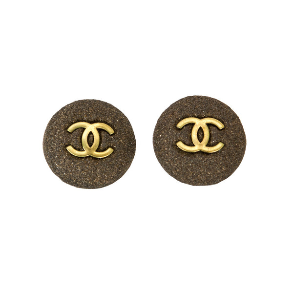 Chanel | Brass Clip On Earrings