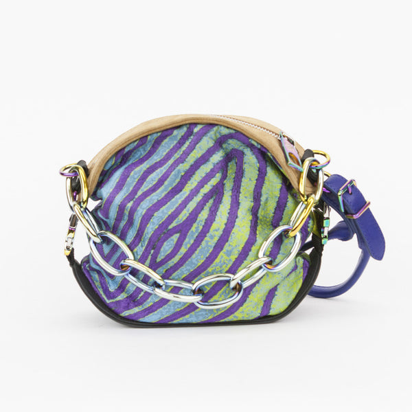 Proenza Schouler fish print jacquard pochette made in Italy