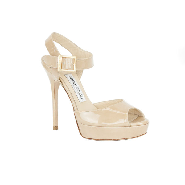 Jimmy Choo | Linda Beige High Heels