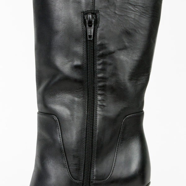 Vince | Dempsey Black Leather Boots