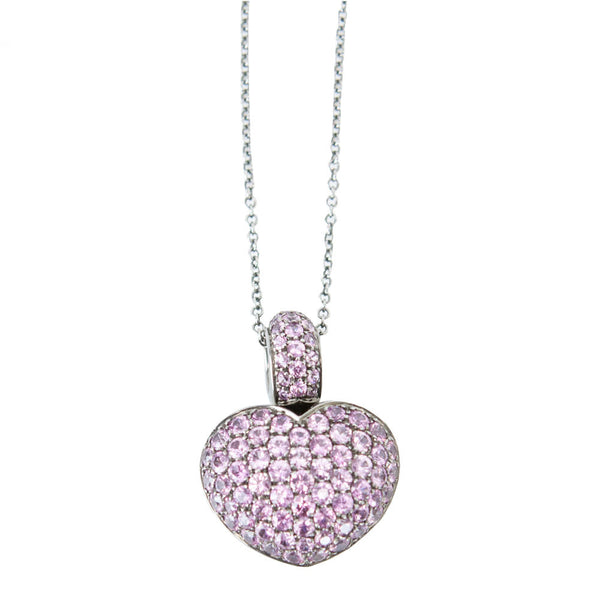 Pasquale Bruni | Pink Sapphire Heart Necklace
