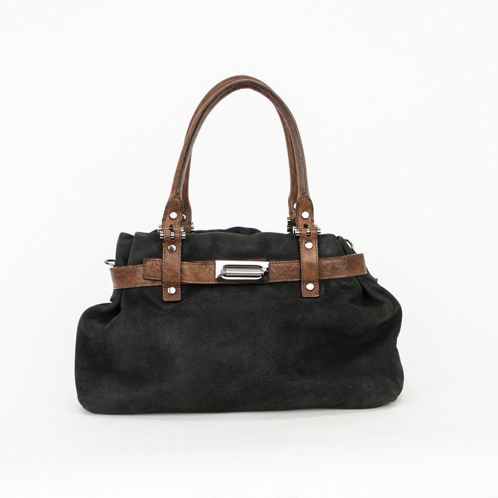 Lanvin black and brown leather handbag ... cce5ce005e74a