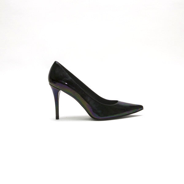 Stuart Weitzman Heist Holographic Patent Leather Pumps